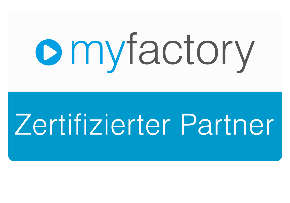 Das Cloud-Office.center ist zertifizierter myfactory Partner