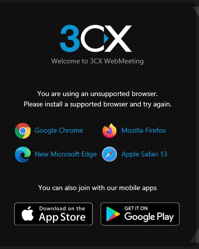 3CX WebMeeting Roadmap
