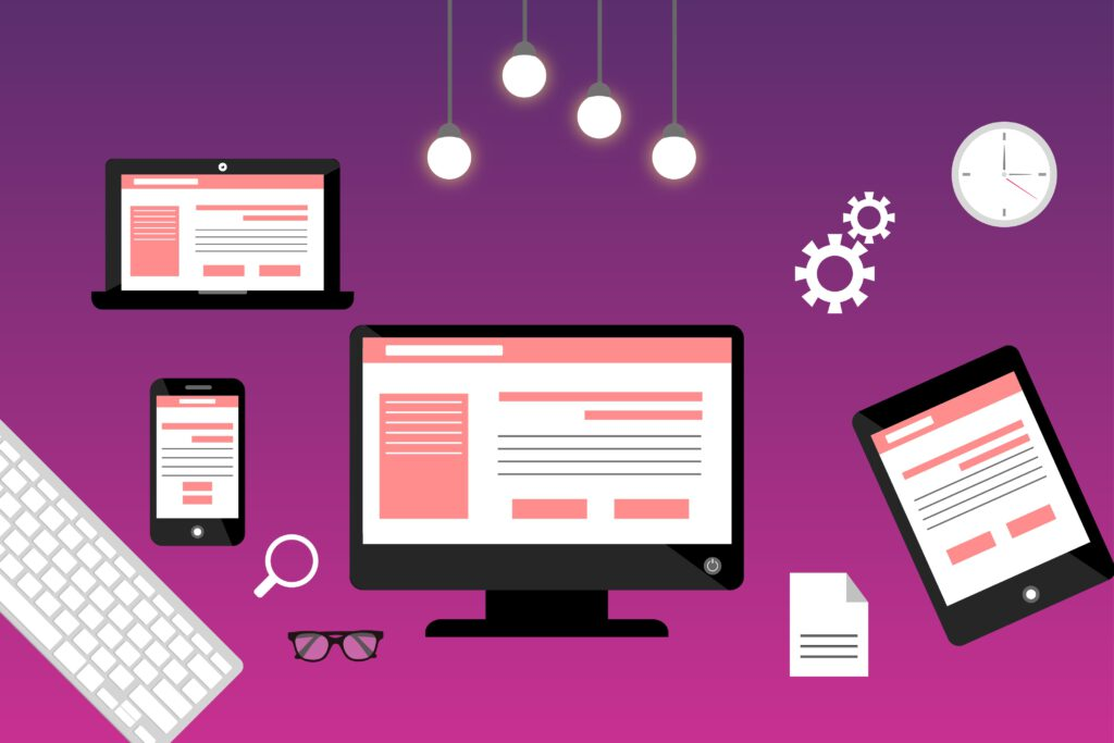 Eine responsive Webseite, die auf allen Endgeräten gut aussieht ist heut im Marketing sehr wichtig!
