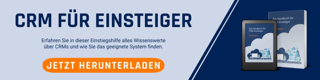 Whitepaper-Angebot: CRM mit den Hubspot Hubs