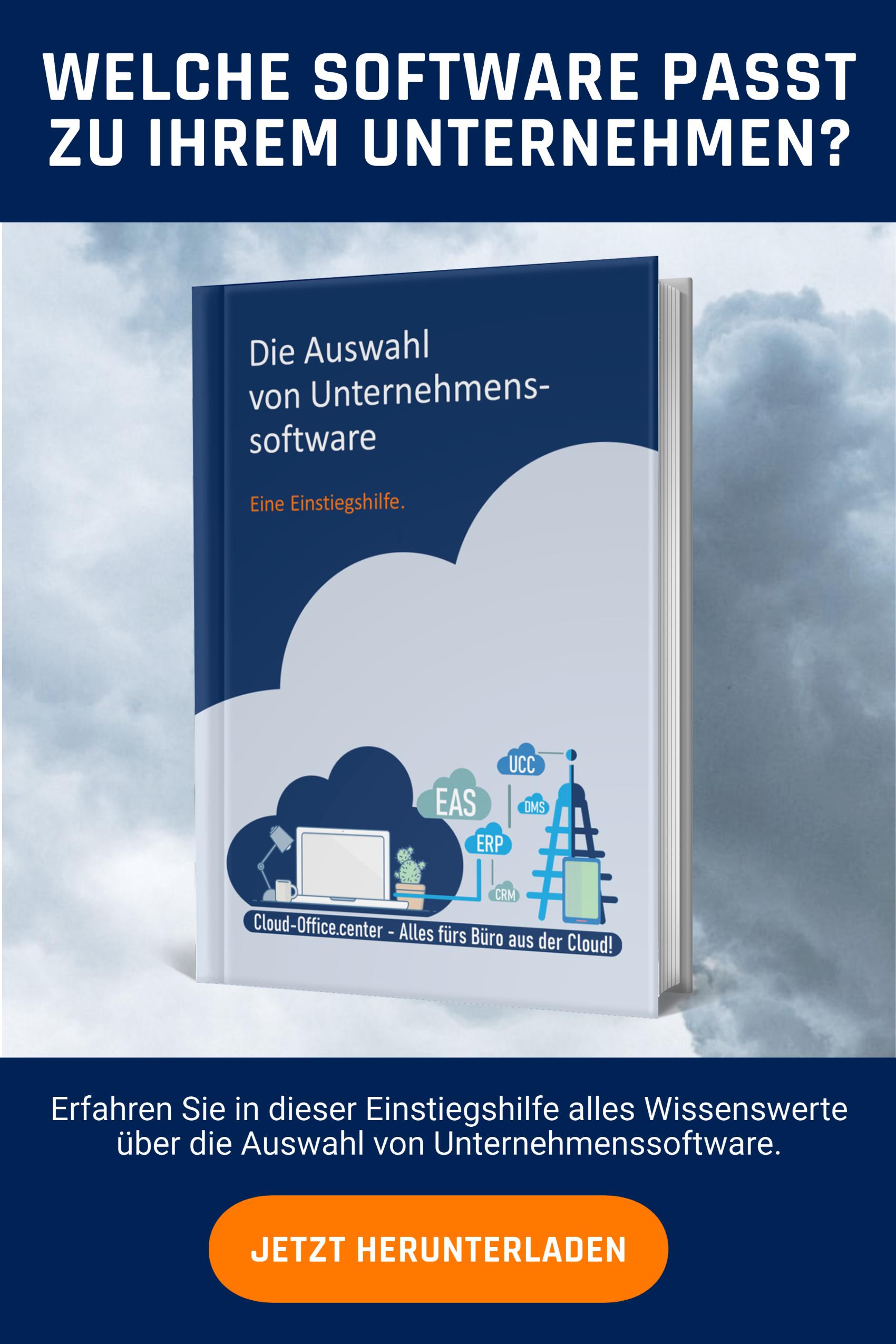 Cloud Software für Mobile Work. Mit diesem Whitepaper zur Auswahl von Unternehmenssoftware finden Sie die richtige Lösung für Mobile Working.