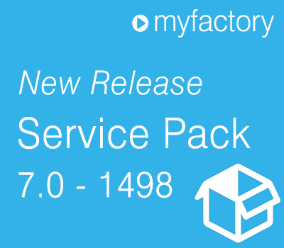 myfactory Service Pack 1498