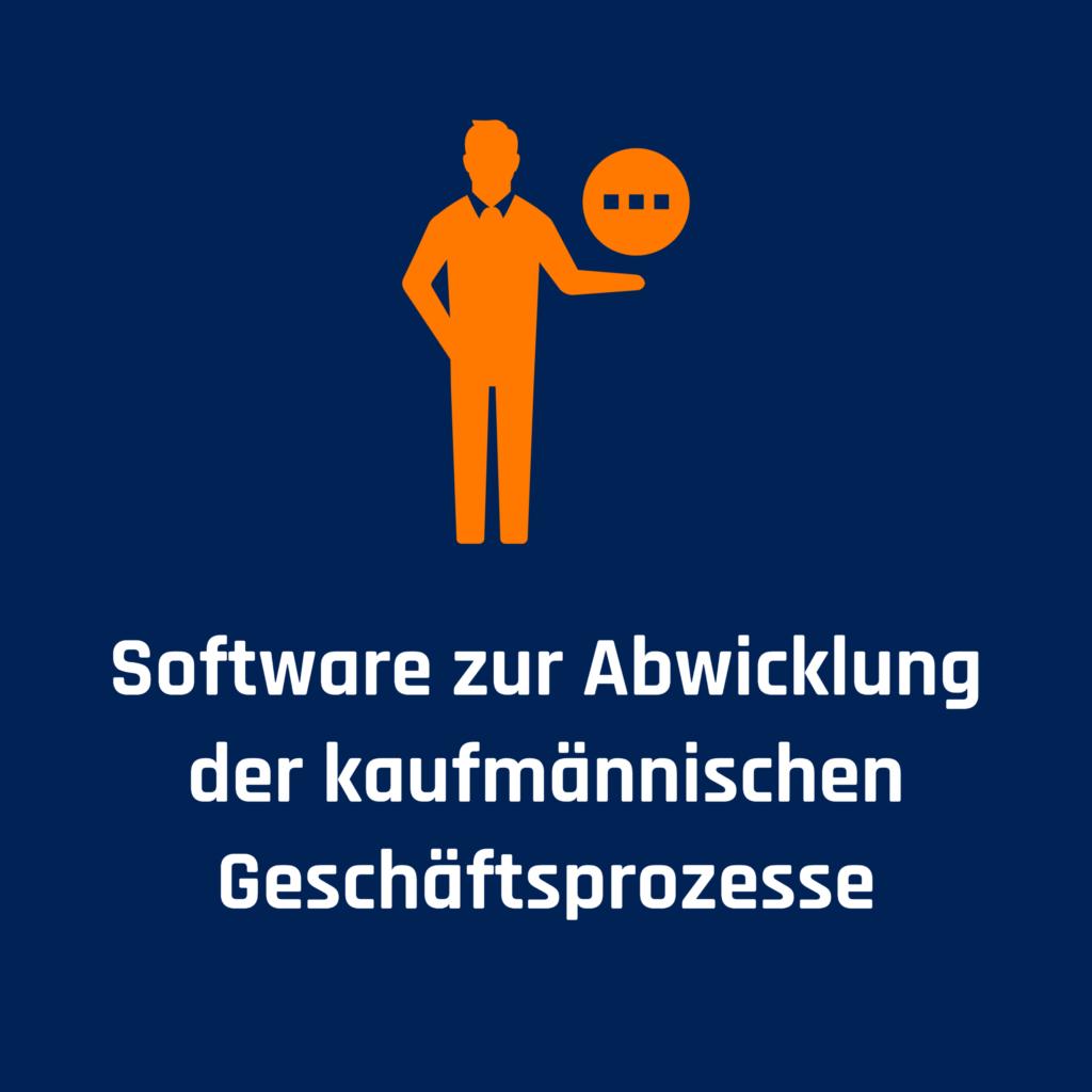 Mobile Working und Home Office braucht Software zur Abwicklung der kaufmännischen Geschäftsprozesse.