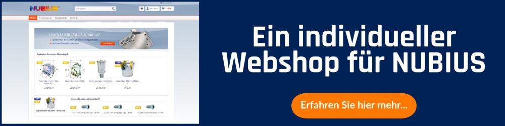 Ein Webshop mit Shopware für NUBIUS