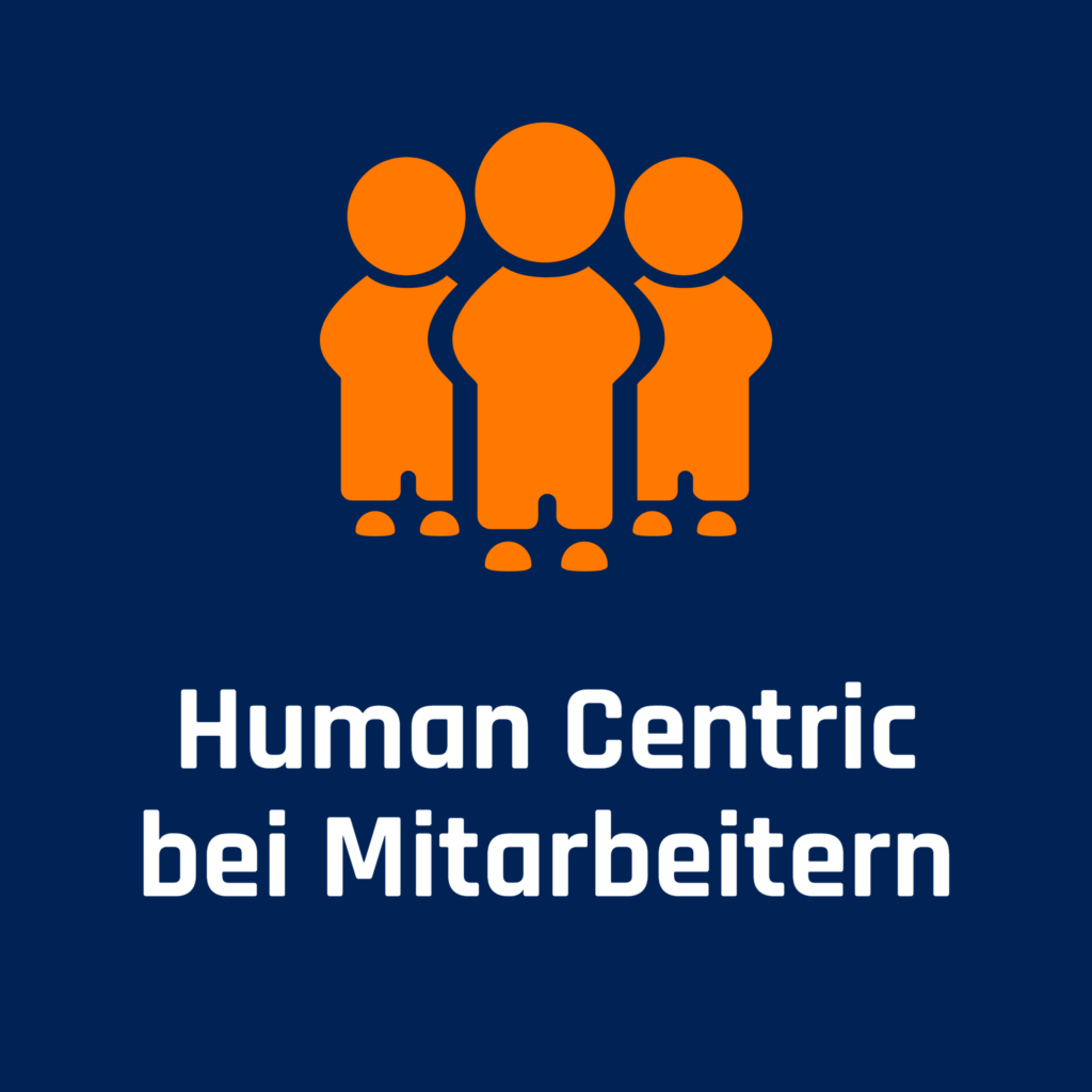 Human Centric bei Mitarbeitern