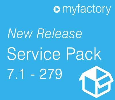 Ab sofort ist das neue myfactory Service Pack 279 zur Version 7.1 verfügbar. Mit dem neuen Service Pack stehen Usern neue Funktionen für das myfactory Cloud ERP zur Verfügung.