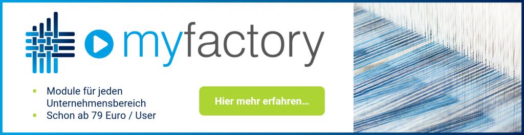 Neue Funktionen mit dem myfactory Service Pack 1375 zur Version 7.1