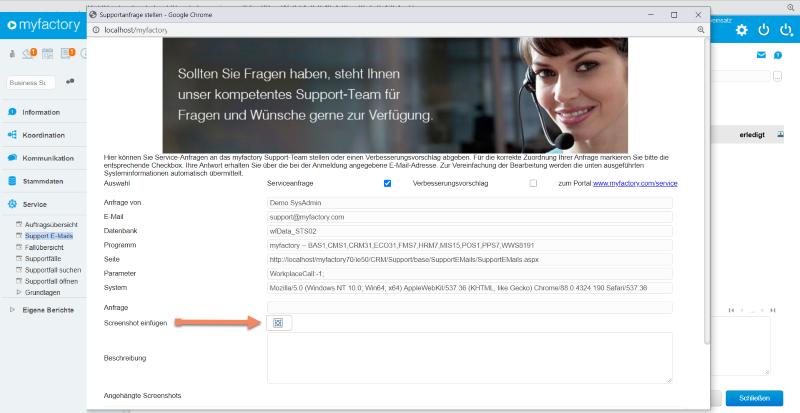 Neue Funktionen mit dem myfactory Service Pack 664 zur Version 7.1