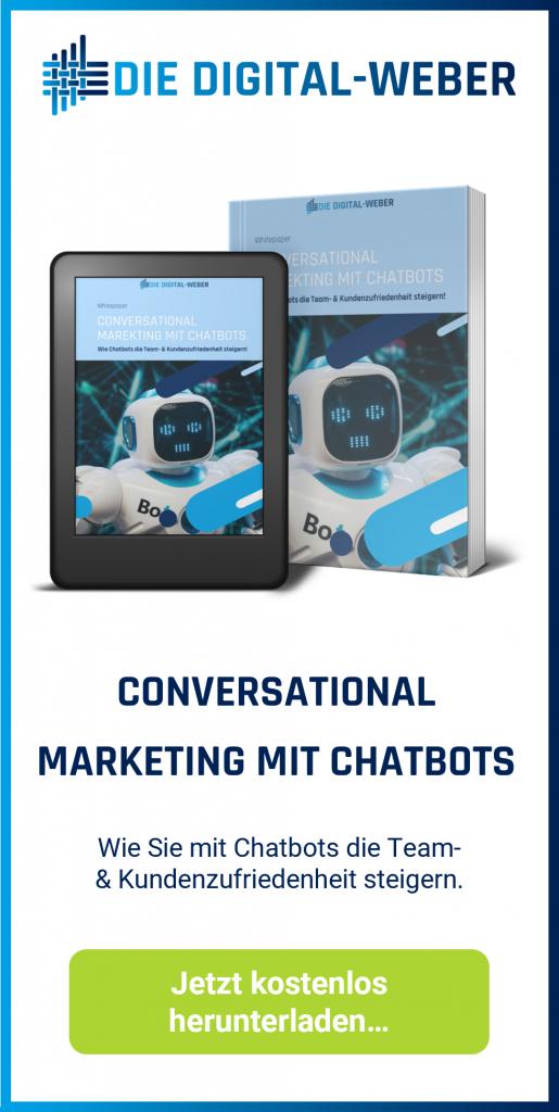 Whitepaper-Angebot: Conversational Markteing mit Chatbots