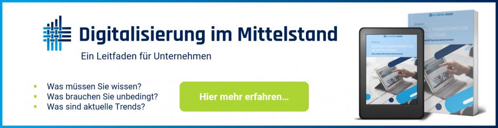 Whitepaper-Angebot: Digitalisierung im Mittelstand